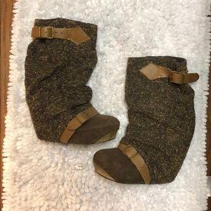 Irregular Choice Wedge boots RARE!!!